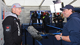 Digby Fox interviewing Jimmy Spithill